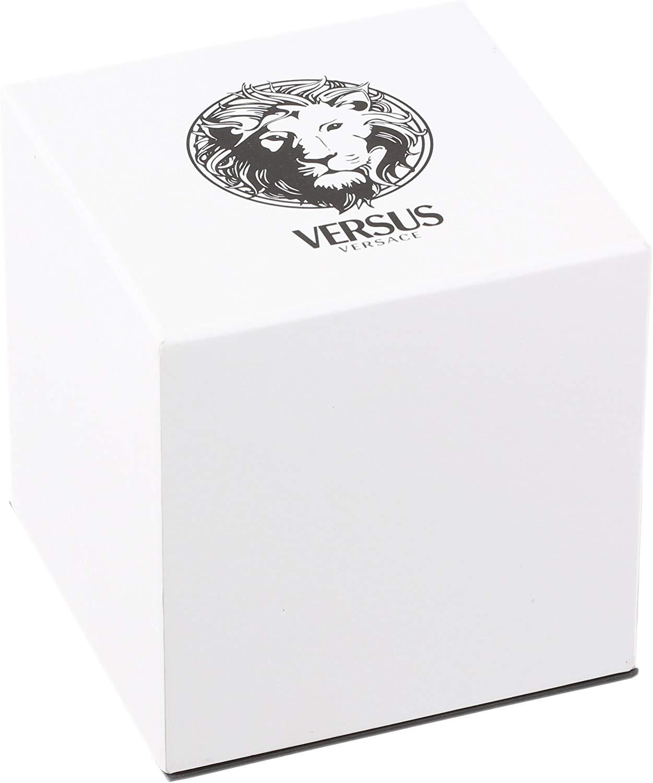 Đồng hồ nữ Versus by Versace Women's 'Agadir' Quartz Stainless Steel Casual Watch, Color:Silver-Toned (Model: SGO010013)