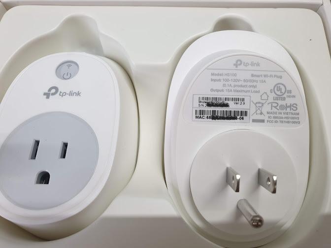 TP-Link HS100KIT - Bộ 2 ổ cắm thông minh Kasa WiFi Smart Plug