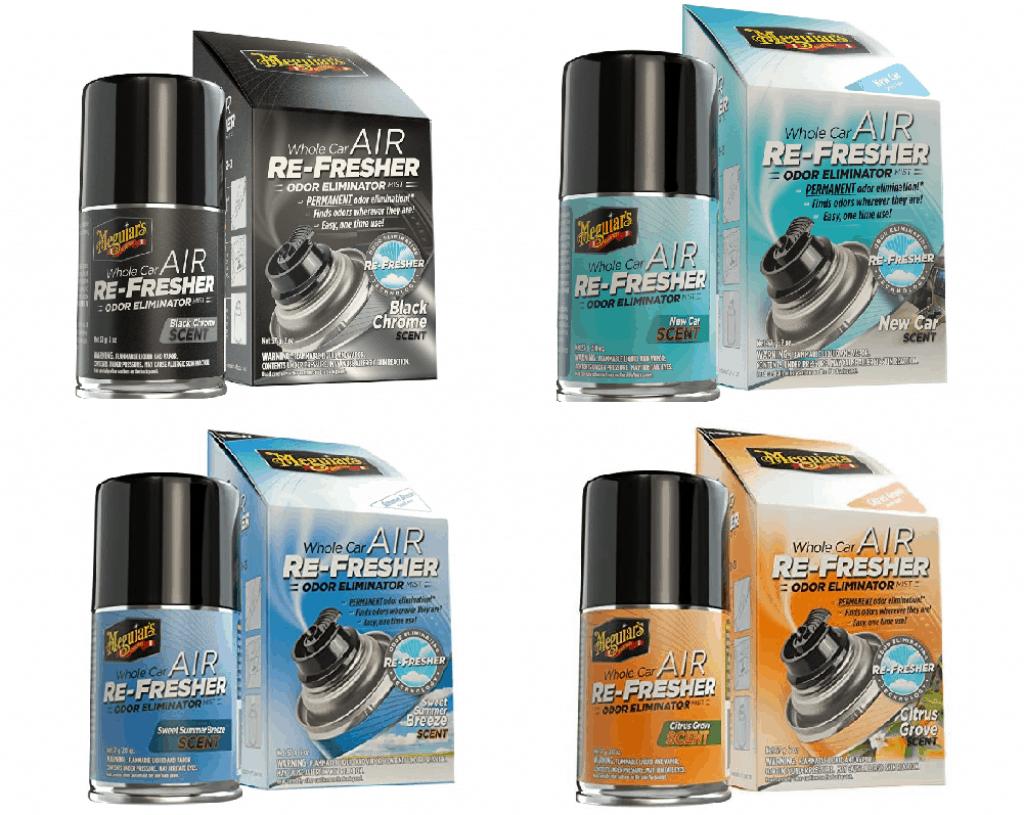 Dung dịch vệ sinh khử khuẩn dành lạnh thơm xe Meguiar's Air Re-Fresher