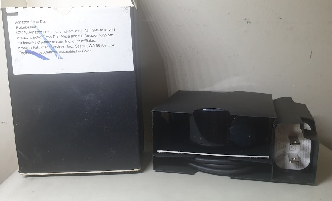 Amazon Echo Dot 2 - Hàng refurbished