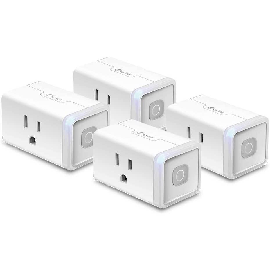 TP-Link HS103 (15A) - Ổ cắm điện thông minh Kasa Smart WiFi Plug Mini - Hỗ trợ Echo Dot và Google Nest Mini