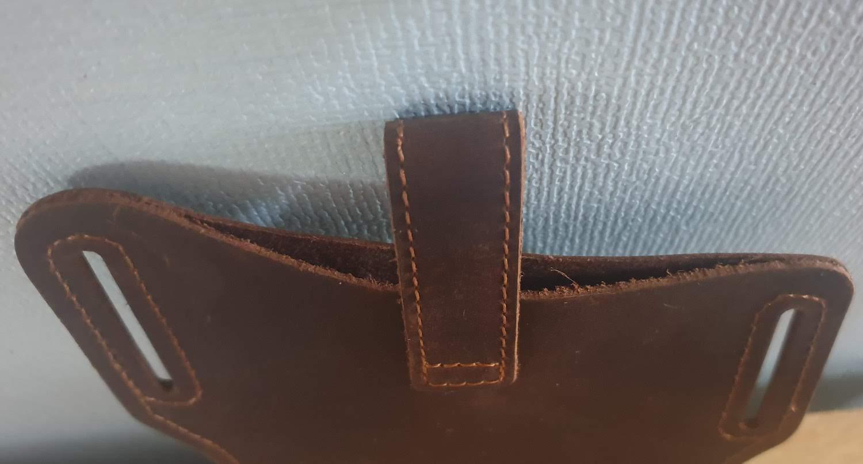 Bao da điện thoại túi đeo hông da ngựa