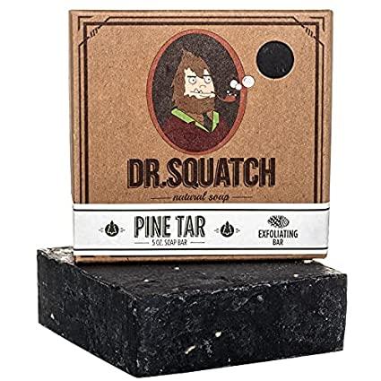 Xà bông tắm tự nhiên Dr. Squatch với nhựa thông